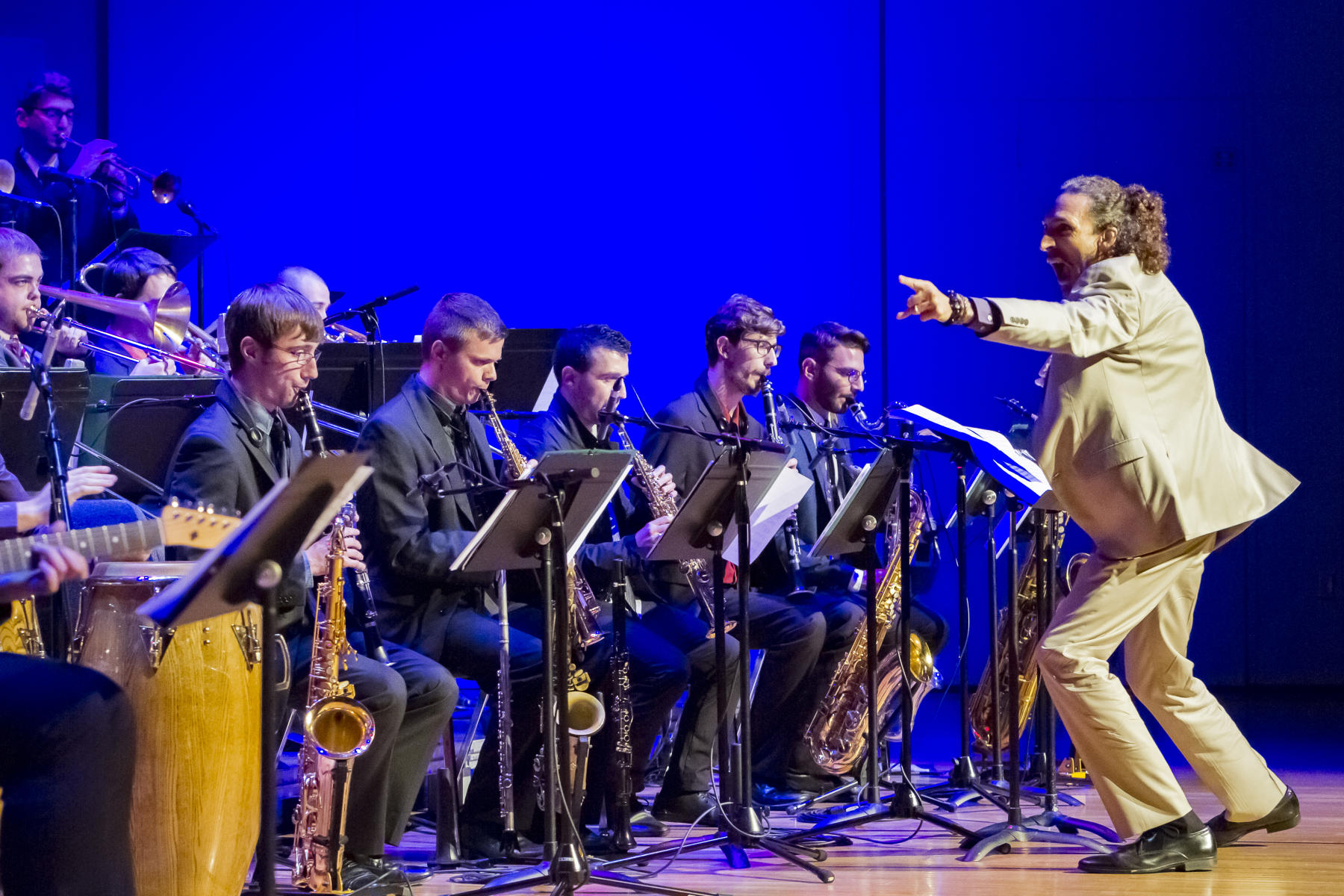 Frost Concert Jazz Band: Europa
