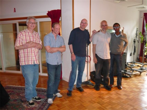 """Empire"" recording session"