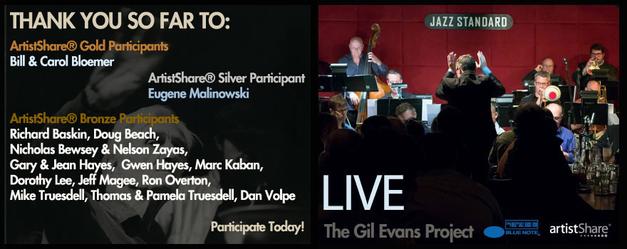 Gil Evans Project Live Feature