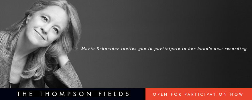 Maria Schneider Thompson Fields Banner
