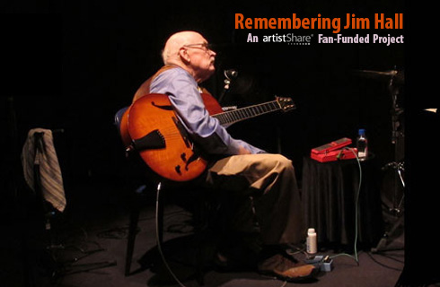 New Remembering Jim Hall Project Launched