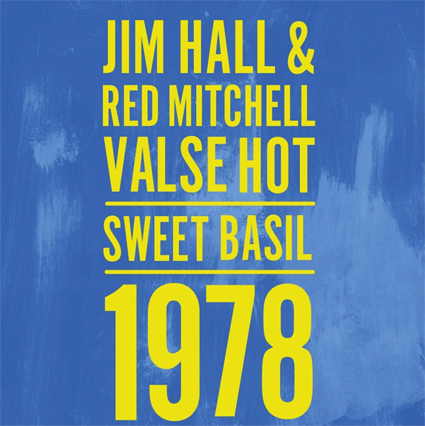 Jim Hall and Red Mitchell Duo LTD Edition CD